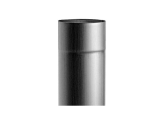 Водосточная труба круглая цинк-титан (2 метра) RHEINZINK-prePATINA schiefergrau (тёмно-серый)