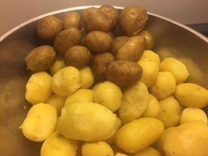 Potatoes for Potato Salad