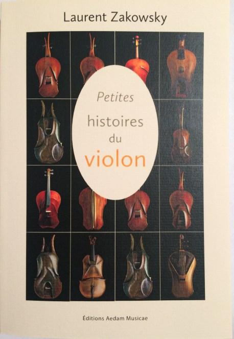 petites histoires du violon couverture