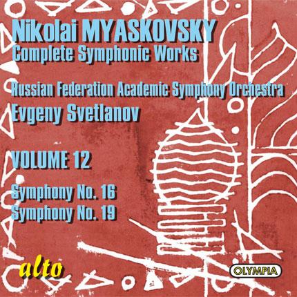 Nikolai Myaskovsky: Complete Symphonic Works, Volume 12
