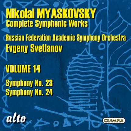 Nikolai Myaskovsky: Complete Symphonic Works, Volume 14
