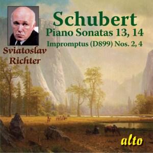 ALC 1081 - Schubert: Piano Sonatas Nos. 13 & 14 / Impromptus Nos. 2 & 4