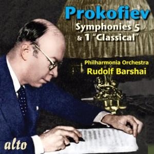 """ALC 1086 - Prokofiev: Symphonies 5 & 1 """"Classical"""""""