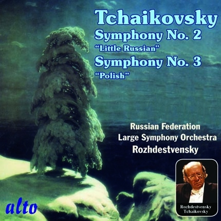 "ALC 1103 - Tchaikovsky: Symphonies Nos. 2 ""Little Russian"" and 3 ""Polish"""