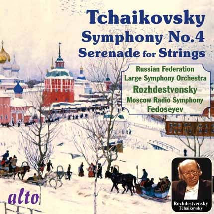 ALC1104 - Tchaikovsky: Symphony No.4 / Serenade for Strings