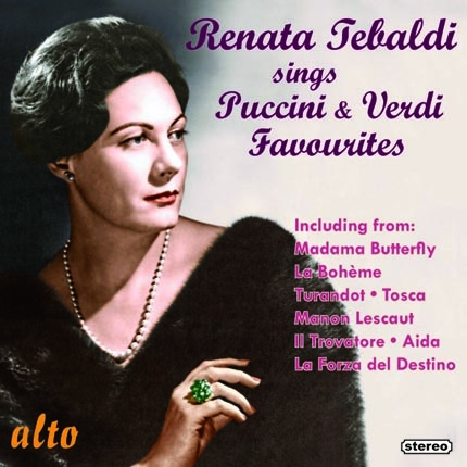 ALC1133 - Renata Tebaldi Sings Puccini and Verdi Favourites