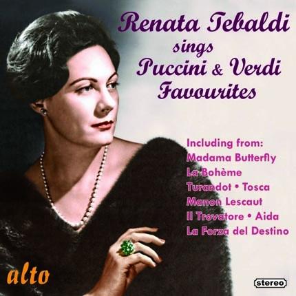 ALC 1133 - Renata Tebaldi Sings Puccini and Verdi Favourites