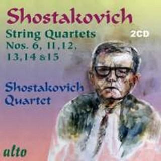 ALC2013 - Shostakovich: String Quartets Nos. 1-3, 5, 7 and 10