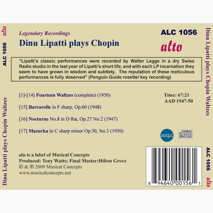 Dinu Lipatti plays Chopin
