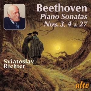 Beethoven: Piano Sonatas 3, 4, & 27