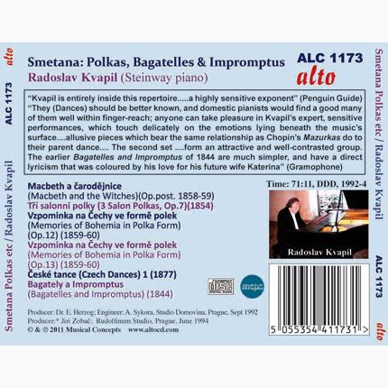 Smetana: Polkas, MacBeth & The Witches, Bagatelles & Impromptus