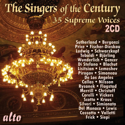 35 Singers of the Century (in their prime)