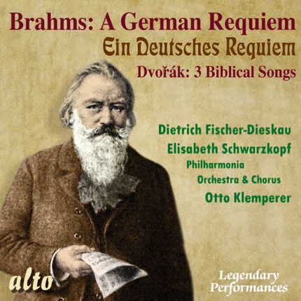 Brahms:  German Requiem / Dvořák: 3 Biblical Songs