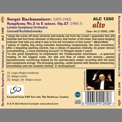 Rachmaninov: Symphony No.2 in E minor (UNEDITED)