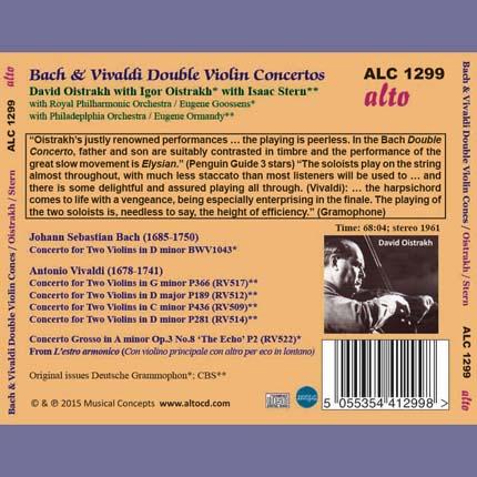BACH VIVALDI VIOLIN CONCERTOS - BBC Radio 3 - Discovering