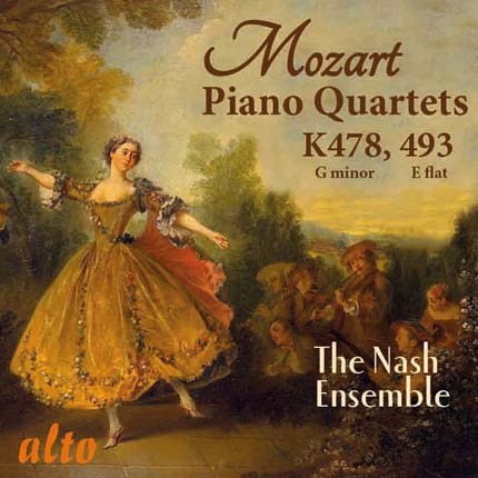 Mozart: The Two Piano Quartets K478, K493