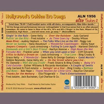 Hollywood Golden Era Songs