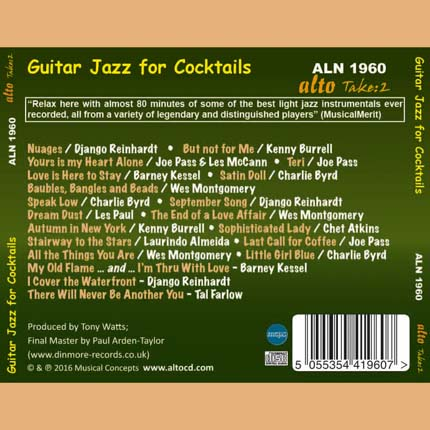 Guitar Jazz for Cocktails