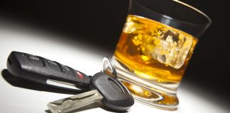 DUI keys alcohol