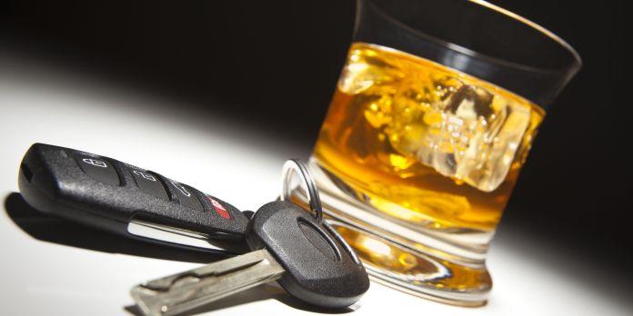 DUI keys alcohol