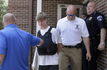 Dylann Roof Charleston SC Arrested