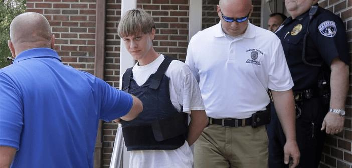 Dylann Roof Charleston SC Arrested