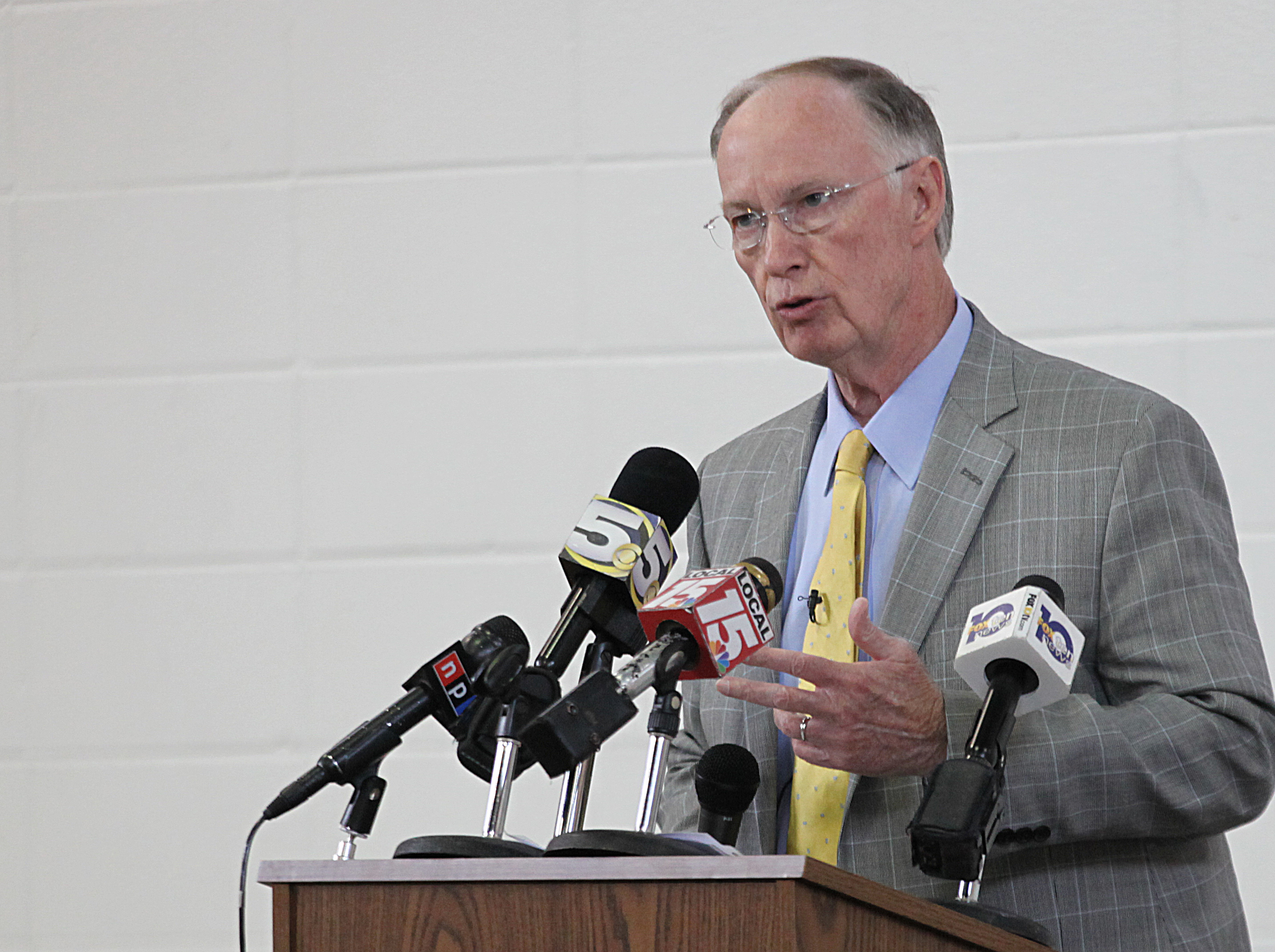 Robert Bentley Continues To Press Tax Increase Plan