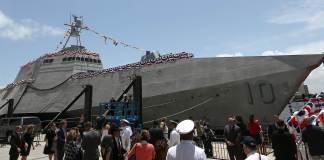USS Gabrielle Giffords Christening