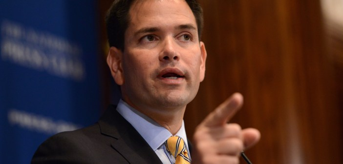 Marco Rubio pointing