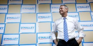 Martin O'Malley campaign signs
