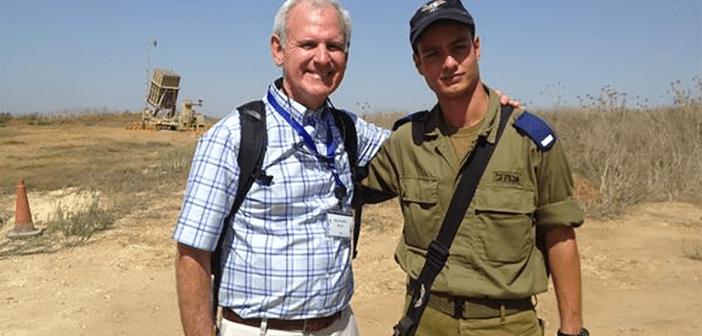 Bradley Byrne in Israel