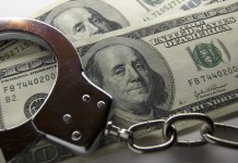 Money handcuffs
