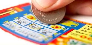 Lottery scratch ticket