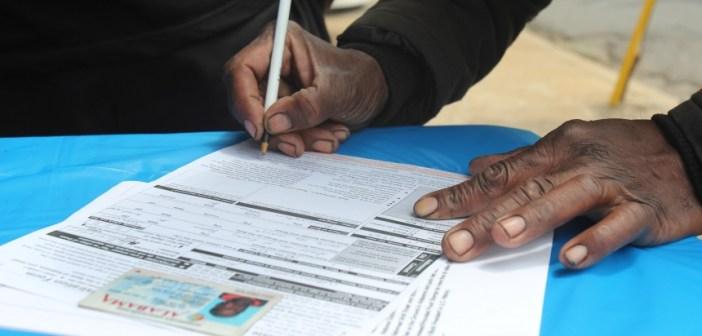 Alabama voter registration drive