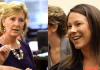 Becky Gerritson and Martha Roby