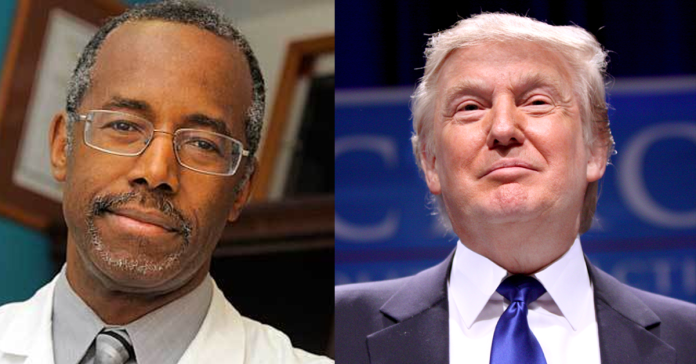 Ben Carson and Donald Trump