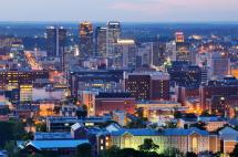 City Skyline Birmingham Alabama