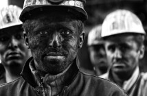 Coal mine workers