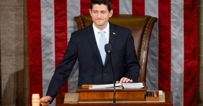 Paul Ryan swearing in
