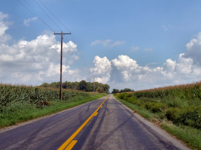 Rural America highway