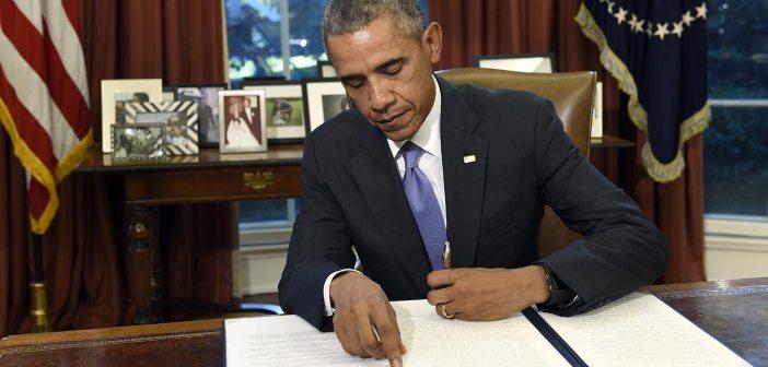 Barack Obama signs law