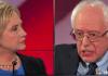 Hillary Clinton Bernie Sanders democratic debate