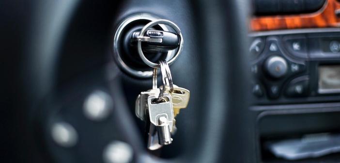 keys in car ignition