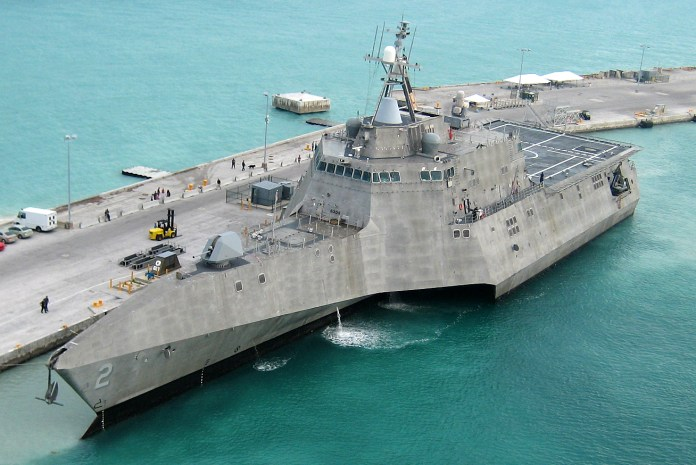 Navy USS Independence_Littoral Combat Ship
