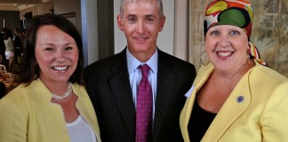 Ronda Walker and Martha Roby and Trey Gowdy