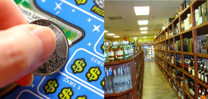 lottery and liquor