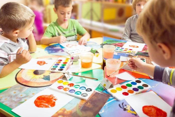 Preschool, pre-k, kids, classroom