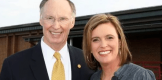 Robert Bentley and Rebekah Mason