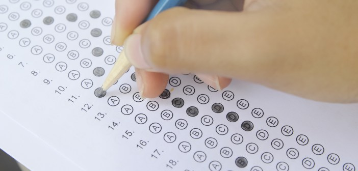 standardized test student