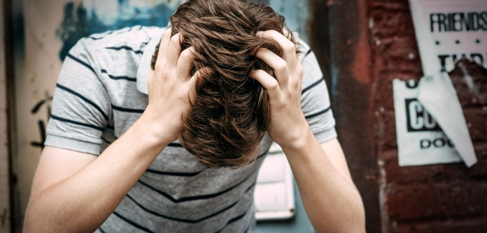 upset sad suicide teen